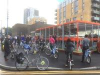 Cycle parking hub at Walthamstow Central